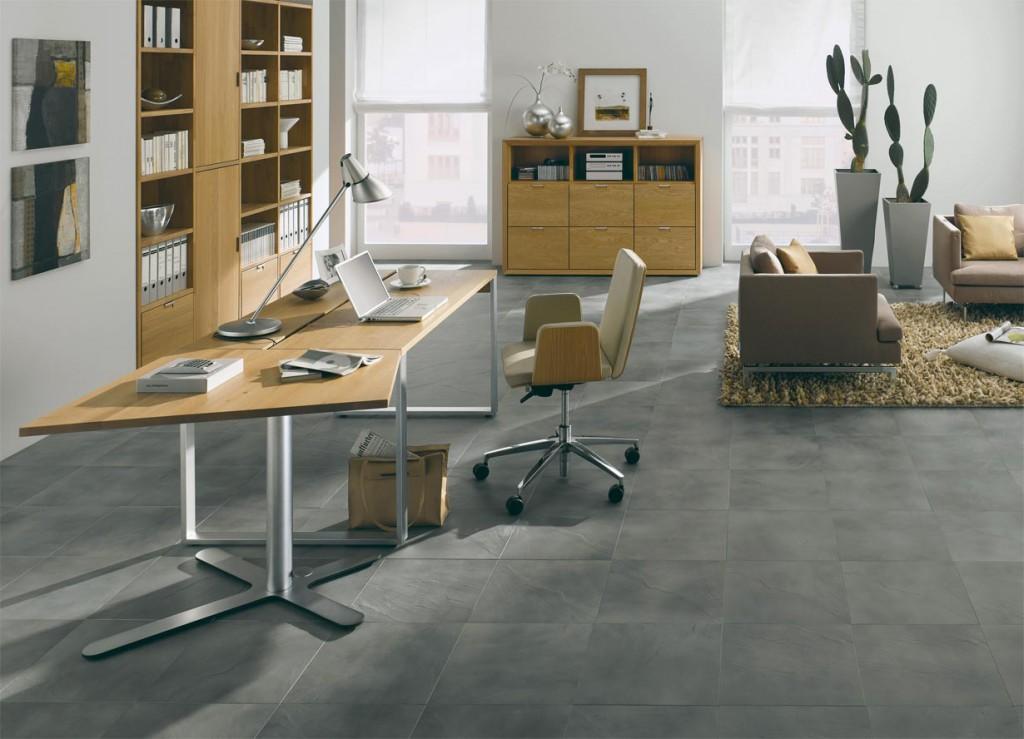 Die Grenzen zwischen Arbeiten und Wohnen sind im home office fließend. Bild: tdx/Hülsta