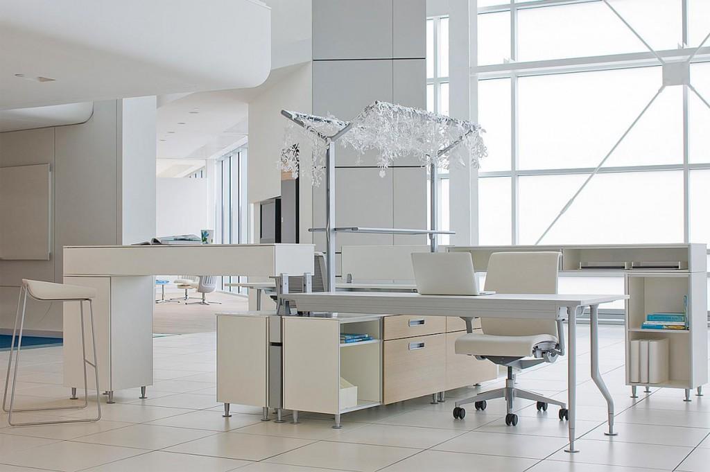 Modernes Design, Ästhetik und Funktionalität im Einklang. Bild: tdx/Steelcase