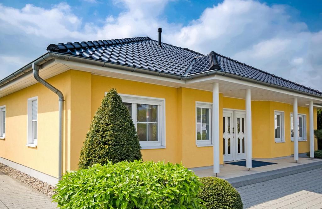 Flexibilit t im bungalow for Flachbau haus bauen