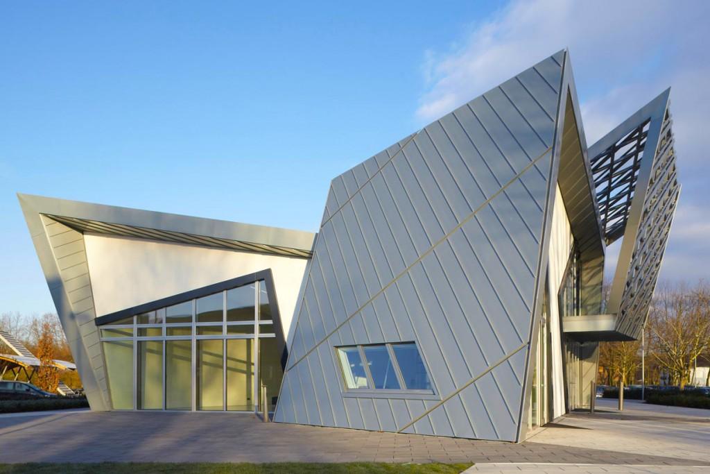 """Die """"Liebeskind Villa"""" ist wahrlich außergewöhnlich und erinnert den Architekten Daniel Liebeskind an einen Diamanten. Bild: tdx/IBU"""
