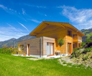 Für die Nachhaltigkeit des Eigenheims ist der private Bauherr selbst verantwortlich. Bild: tdx/IBU/Pavatex