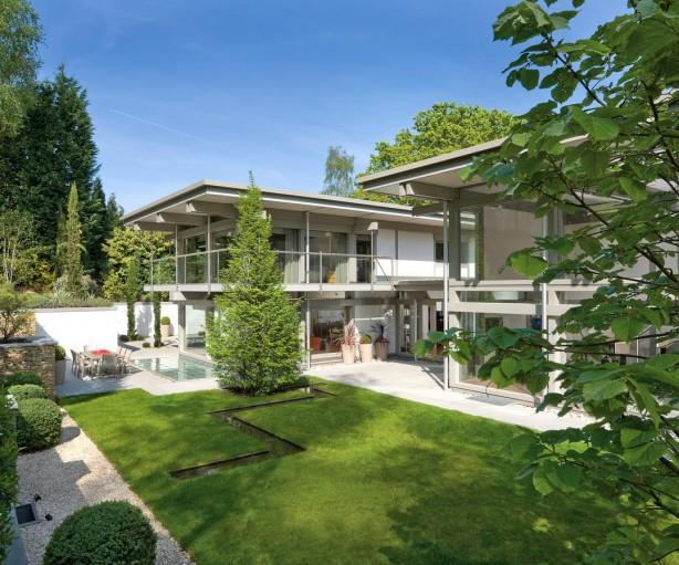 Zeitlose Moderne für generationenübergreifendes Wohnen. Bild: Huf Haus