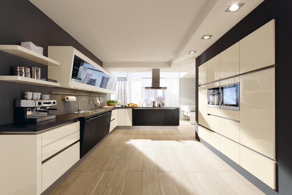 Die Küche verbindet die Faszination der Männer für Technik mit beeindruckendem Design. Bild: tdx/Musterring