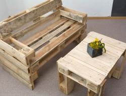 Upcycling ist im Trend. Möbel aus Europaletten können sich sehen lassen. Bild: fotolia