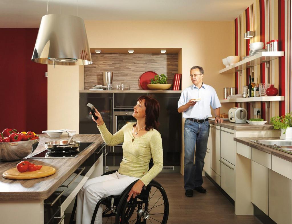 Barrierefreiheit spielt auch in der Küche eine große Rolle. Bild: tdx/BHW