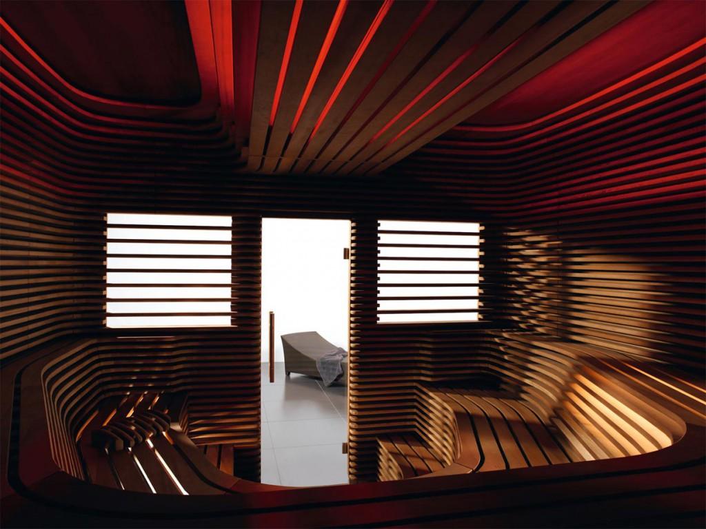 Stimmungsvolles Licht für ein besonderes Saunaerlebnis. Bildquelle: tdx/Klafs