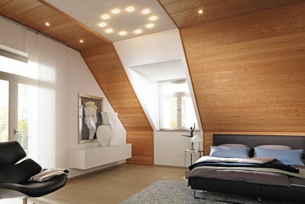 Mit Holz erhalten Innenräume einen individuellen Charakter. Holzvertäfelungen, beispielsweise aus Kirschbaum, gefallen durch ihre einzigartige Farbgebung und laden zum Verweilen ein. Bild: tdx/Meisterwerke/GD Holz e.V.