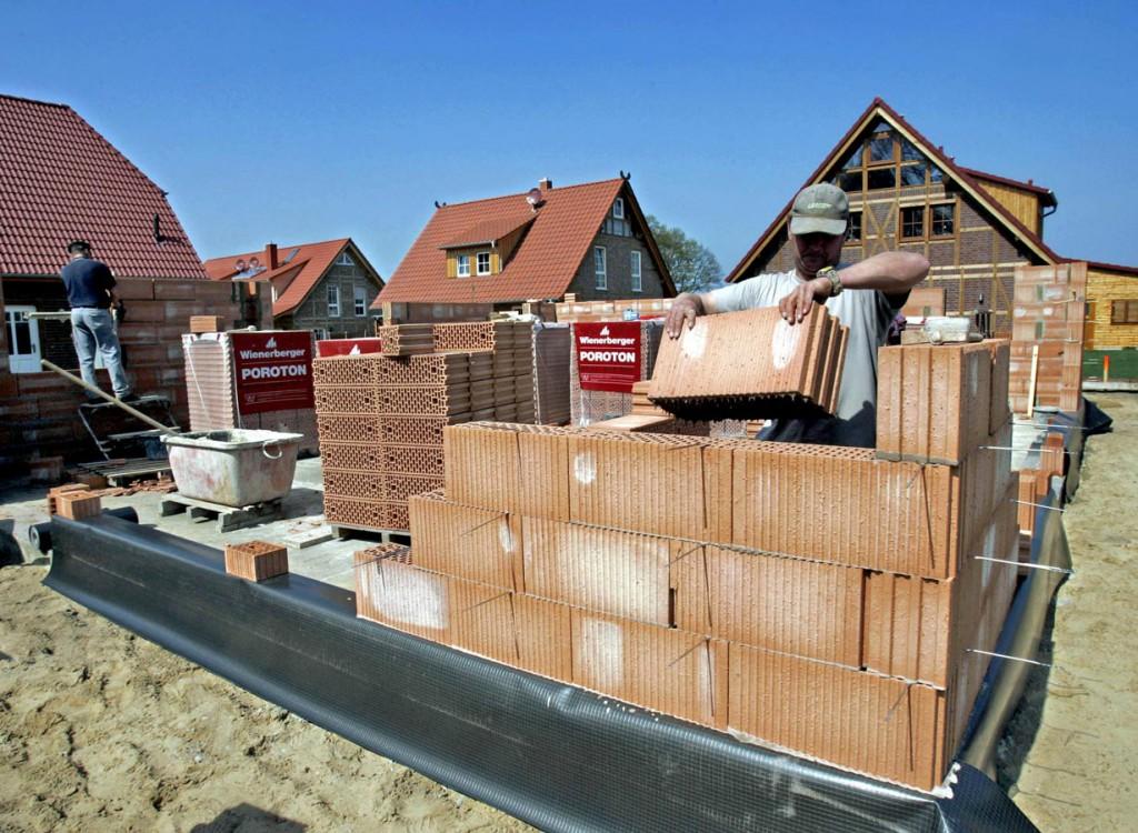 Auch wenn das Mauerwerk später hinter Putz und Tapeten unsichtbar wird, so wirkt doch eine gewisse Strahlkraft. Bild: Wienerberger Ziegelindustrie