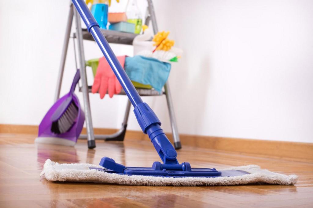 Nach Baumaßnahmen ist Putzen angesagt. Bild: fotolia