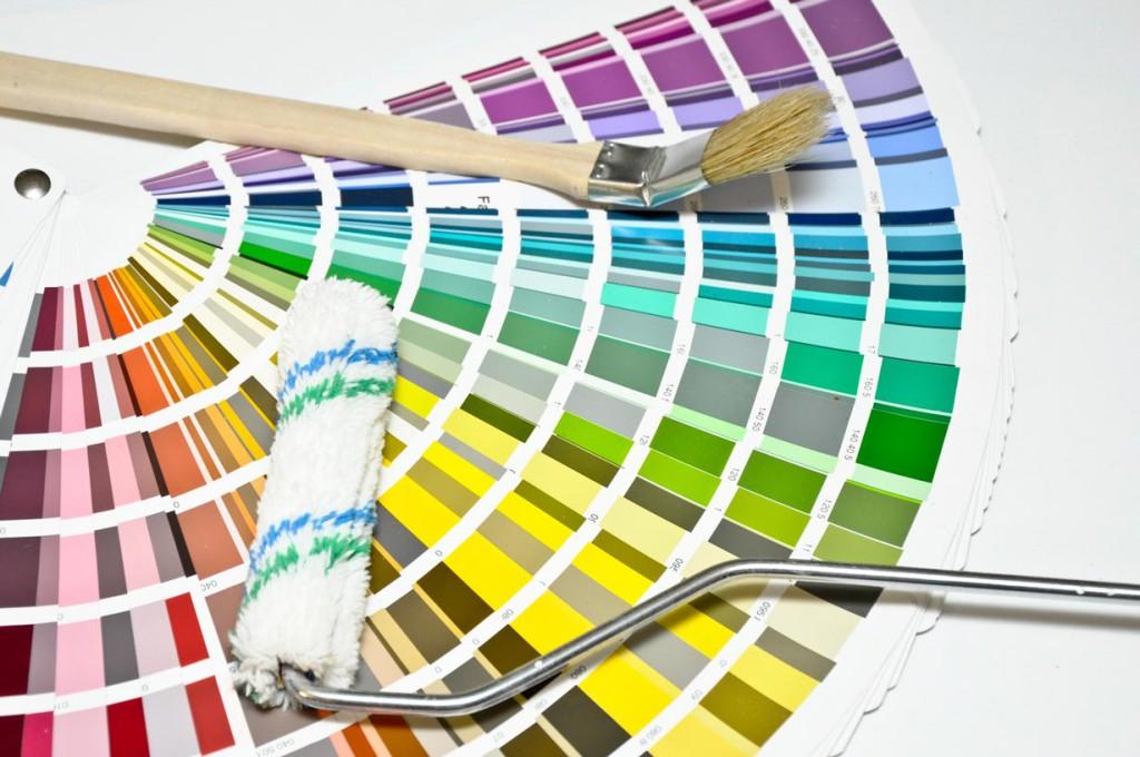 Die Auswahl an Farben ist riesengroß. Mit einer Farbpalette kann man sich einen ersten Überblick verschaffen. Bild: fotolia