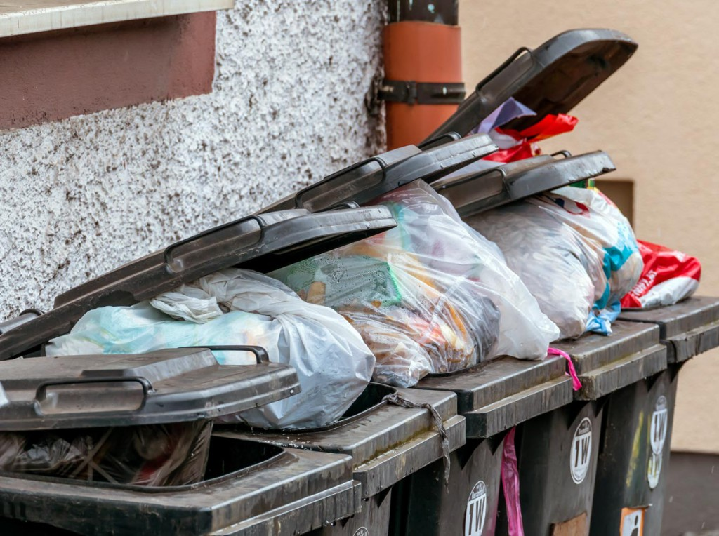 Die Müllberge wachsen. Bild: fotolia