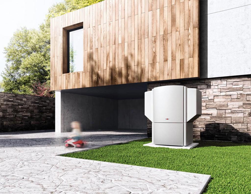 Mit einer Wärmepumpe können Hauseigentümer nicht nur Heizkosten sparen, auch die Energiebilanz des Gebäudes verbessert sich. Bild: tdx/Bundesverband Wärmepumpe (BWP)