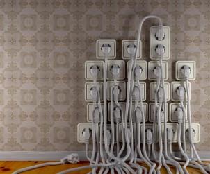 Kabel über Kabel. Nervtötend und unansehnlich in jeder Wohnung. Bild: fotolia