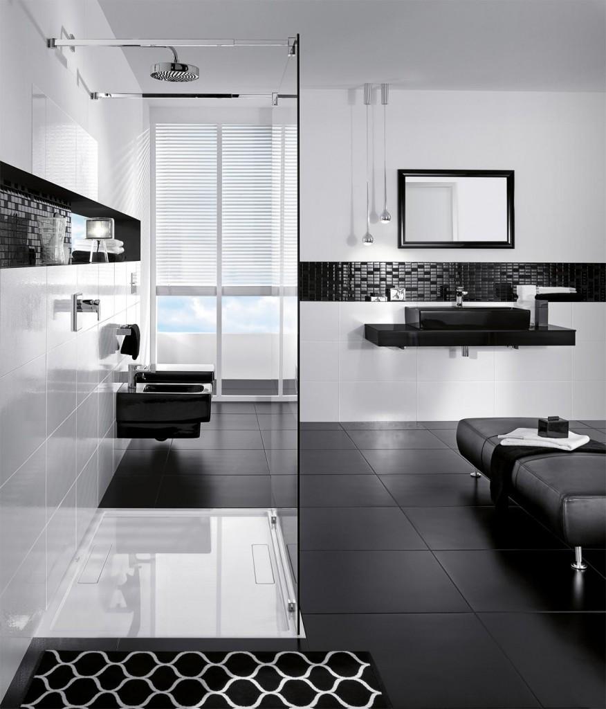 Das Badezimmer hat sich in den vergangenen Jahren zur Wellnessoase gewandelt. Ganz besonders zeigt sich die Entwicklung bei der Dusche. Bildquelle: tdx/Villeroy & Boch