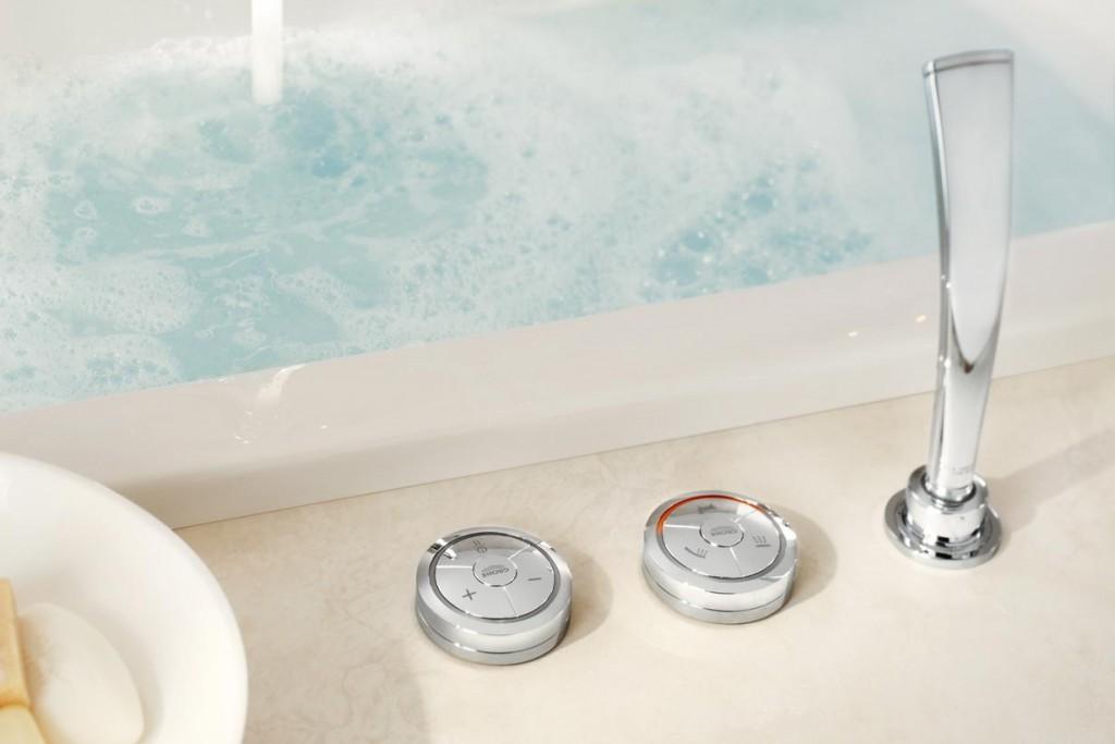 Intelligente Technologien für das digitale Bad sind der Trend. Bild: Grohe