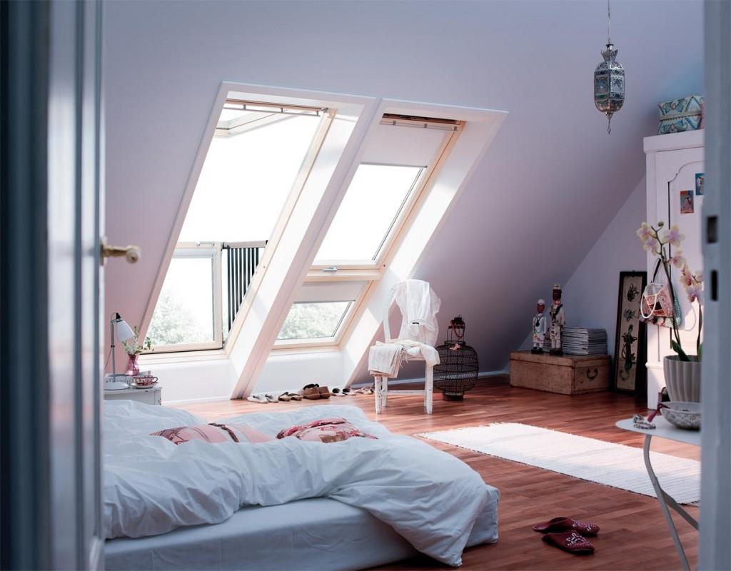 Ob Kinder-, Schlafzimmer oder Hobbybereich - durch den Dachausbau kann man aus dem Dachboden mehr machen als einen öder Speicher oder eine verstaubte Rumpelkammer. Bild: tdx/dach.de