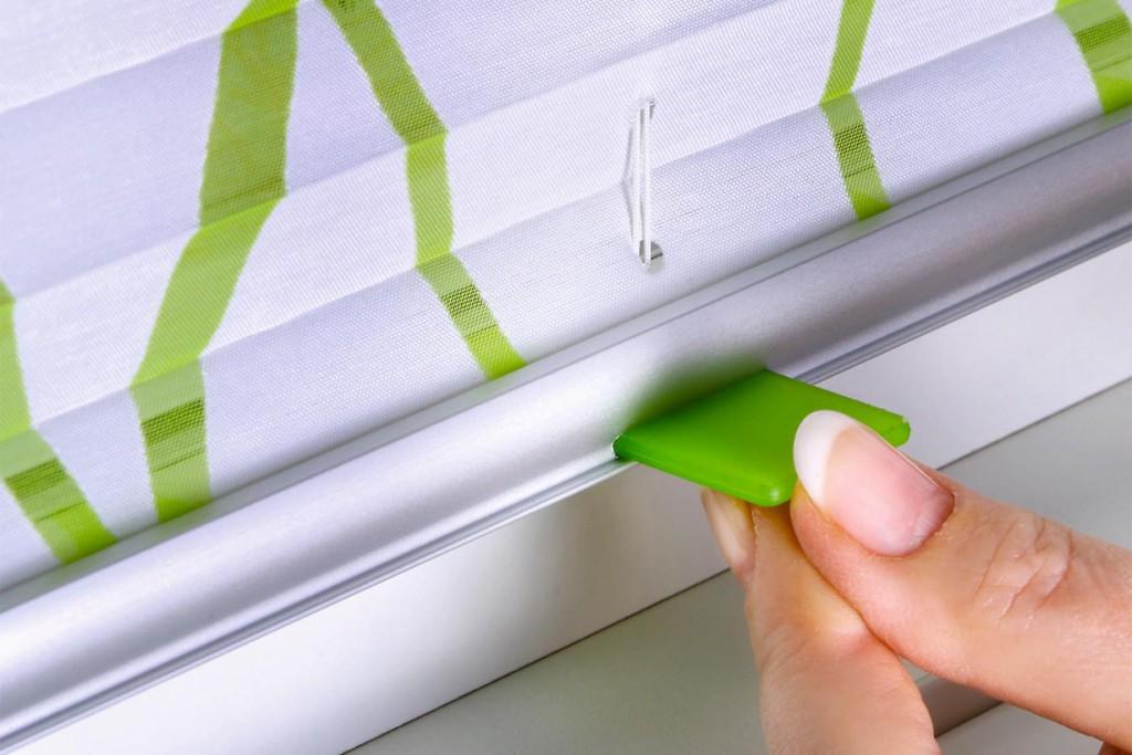 Die sport Design-Griffe von Teba gibt es auch in stylischen Farben wie grasgrün und schaffen so ein stimmiges Design. Bild: tdx/Teba