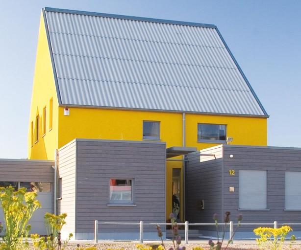 Blick auf die Nordseite des Hauses. Bild: Catrin Moritz, Essen