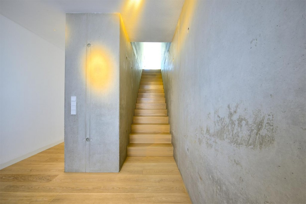 Einheitlicher, glatter Beton innen. Bild: InformationsZentrum Beton/Peters