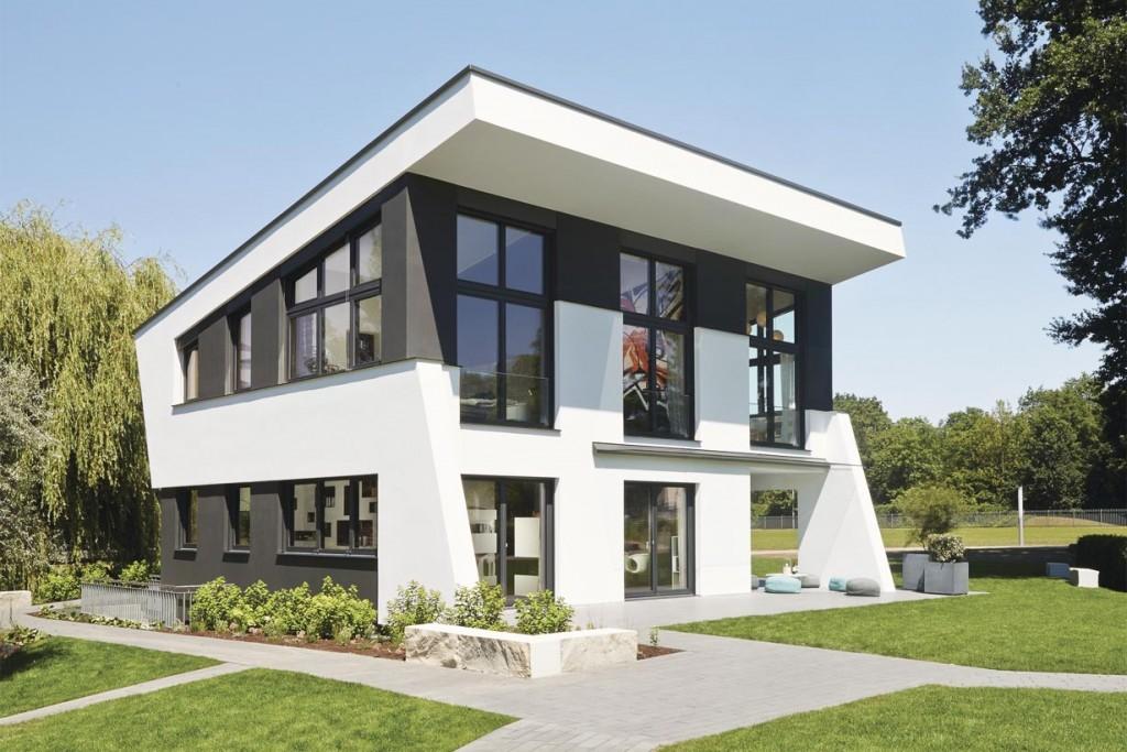 Skulpturale Architektur im urbanen Trend. Bild: Weber Haus