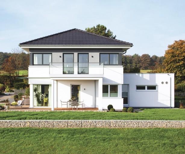 Stadtvilla in neuem Gewand. Bild: Weber Haus