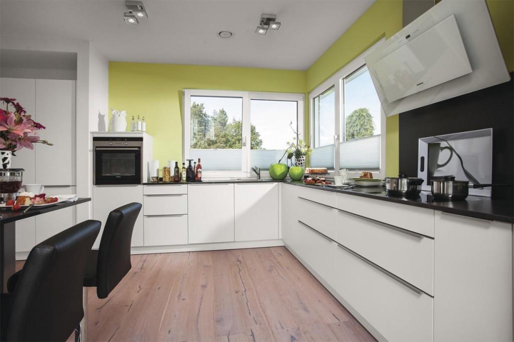 Stadtvilla in neuem Gewand. Küche. Bild: Weber Haus