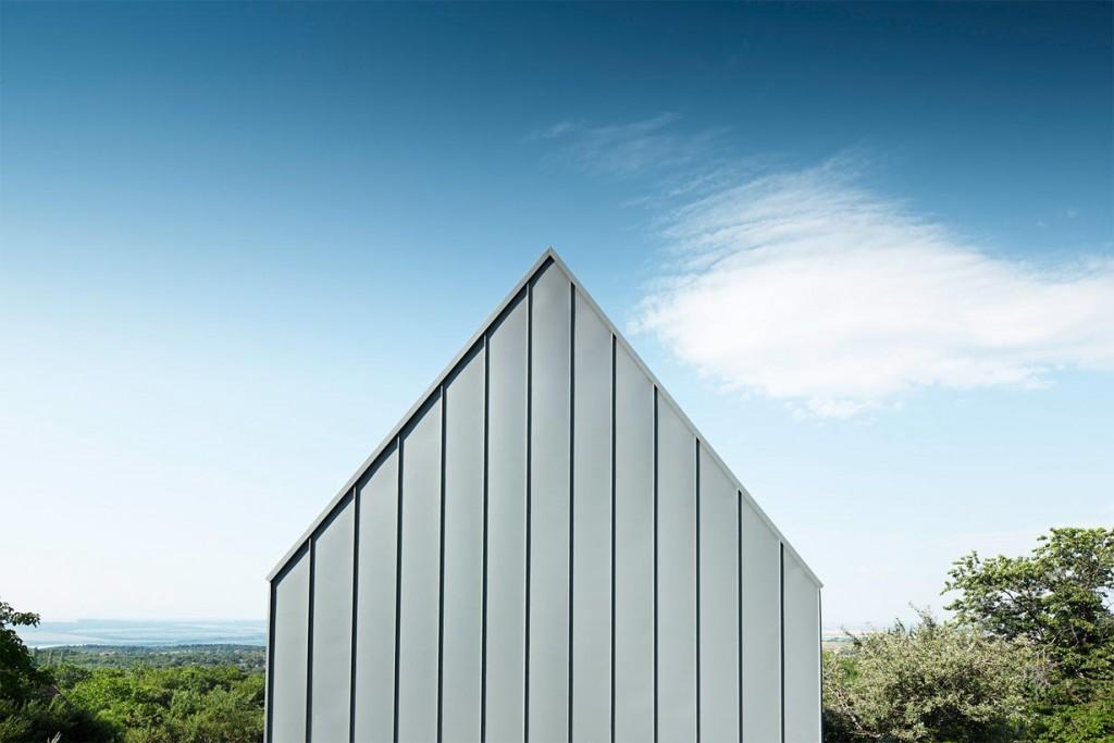 Realisiert wurde das preisgekrönte Objekt ausschließlich mit Beton und Prefa-Produkten. Bild: Prefa/Croce