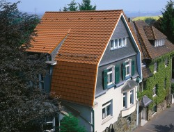 Dachformen Mansarddach
