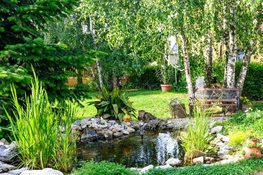 Ausgewogenheit in der Gartengestaltung sorgt für ein besonderes Wohlfühl-Gefühl im Garten. Bild: fotolia