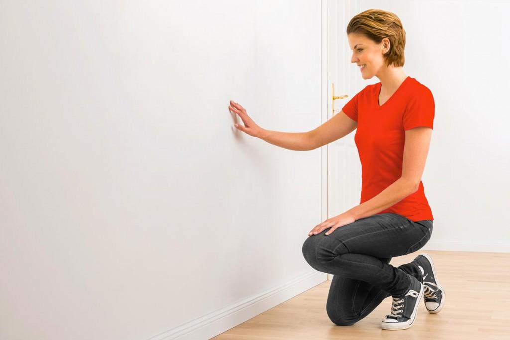 Nach einer Trocknungszeit von circa acht bis zwölf Stunden ist die Wand eben und glatt. Bild: tdx/Molto