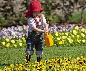 Der Garten bietet für Kinder tolle Entfaltungsmöglichkeiten und spannende Abenteuer. Bild: tdx/Das Grüne Medienhaus