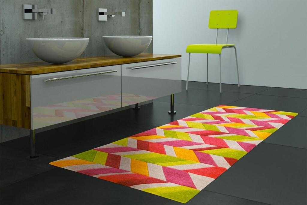 Knallige Farben im Hell-Dunkel-Kontrast oder Retro-Muster schaffen immer wechselnde Effekte. Bild: tdx/Arte Espina