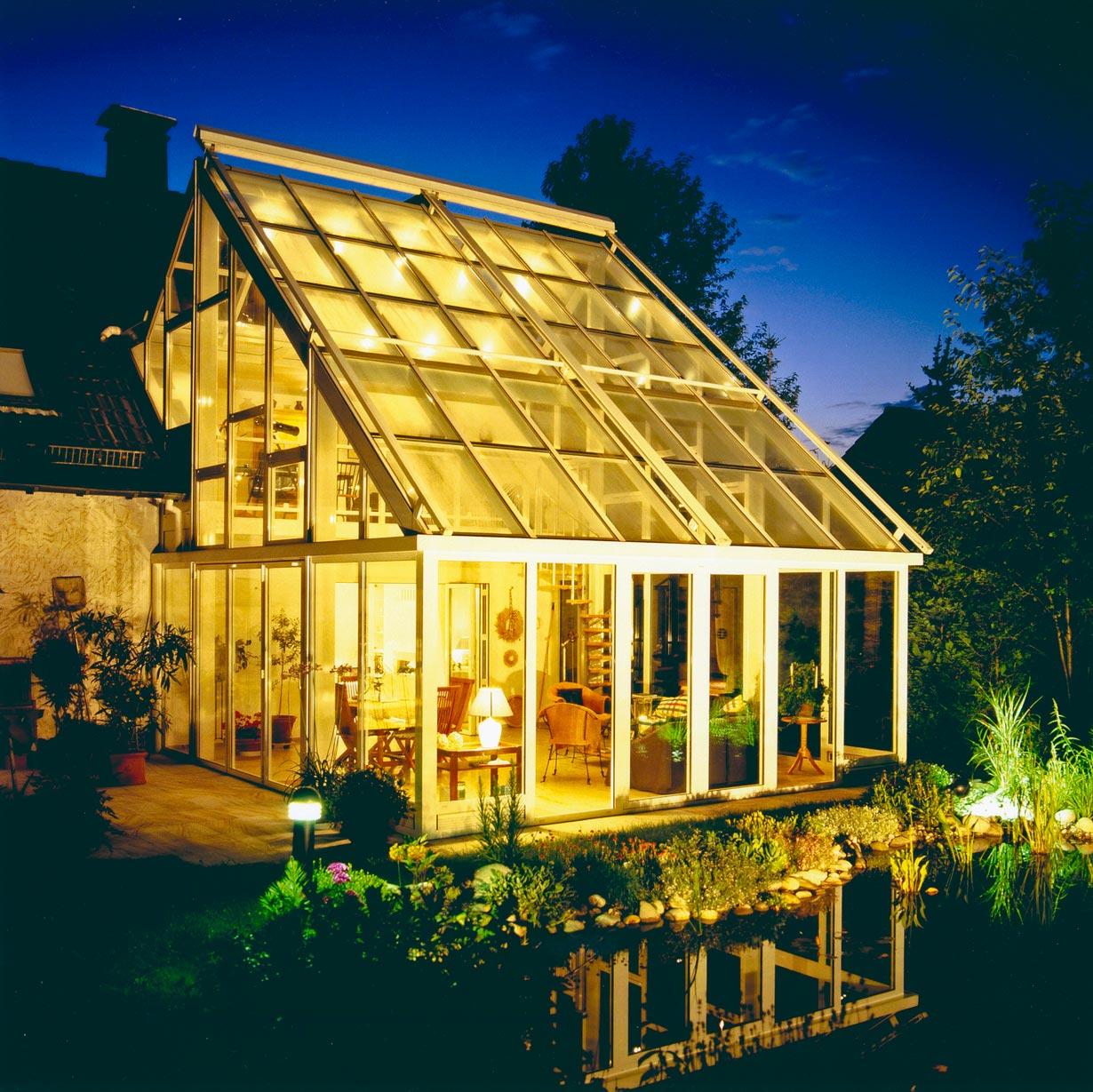Wintergarten Zweistöckig glashaus oder wintergarten hausidee dehausidee de