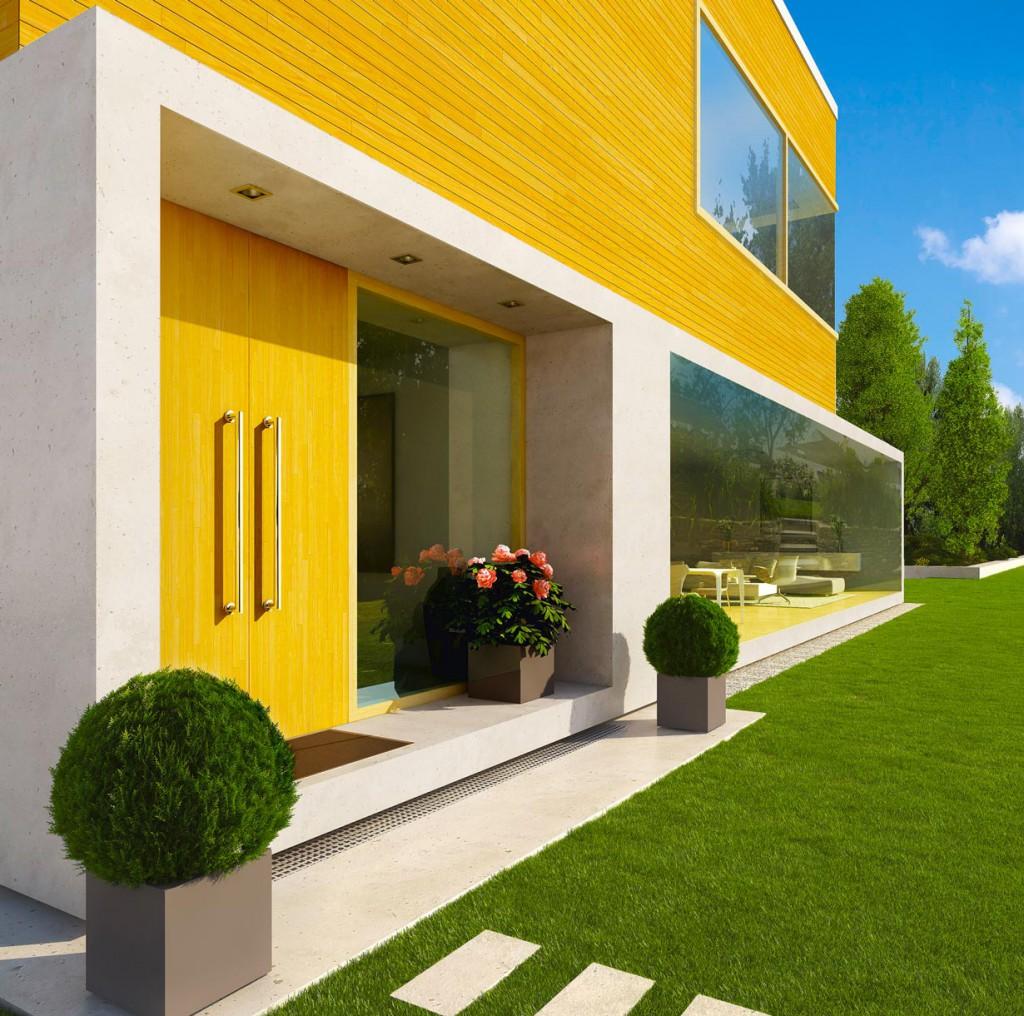 Holzfassaden verschönern ein Haus und schützen das dahinterliegende Mauerwerk vor Wind und Wetter. Damit das Holz selbst dauerhaft schön und geschützt ist, sollte es mit den passenden Holzschutzlasuren behandelt werden. Bild: tdx/Xyladecor