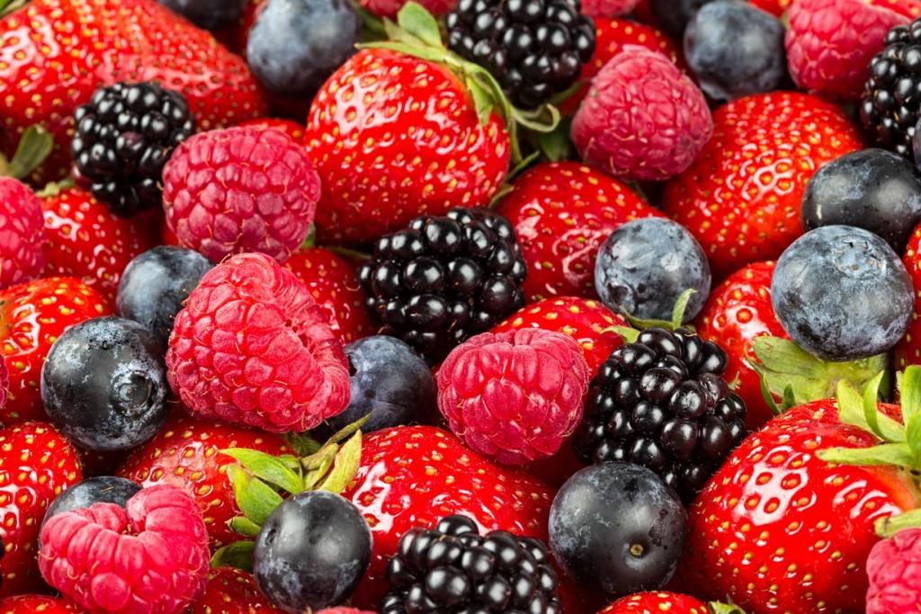 Auch die Süßen sollten im Garten nicht zu kurz kommen. Heimische Früchte gedeihen prächtig. Bild: fotolia