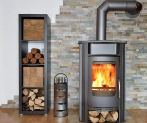 Im Haus wissen Brennholzregale zu gefallen. Bild: fotolia