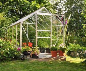 Ein Gewächshaus bietet viele Vorteile, dennoch gedeihen darin die Pflanzen nicht ohne Pflege. Bild: fotolia