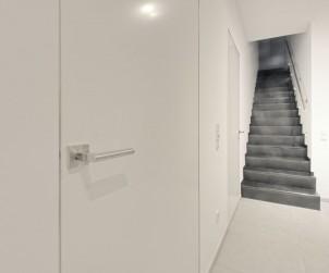 Innenraumtüren, die bündig mit der Wand eingebaut sind, verleihen einem Raum eine ganz besonders Note. Bild: tdx/Vitadoor