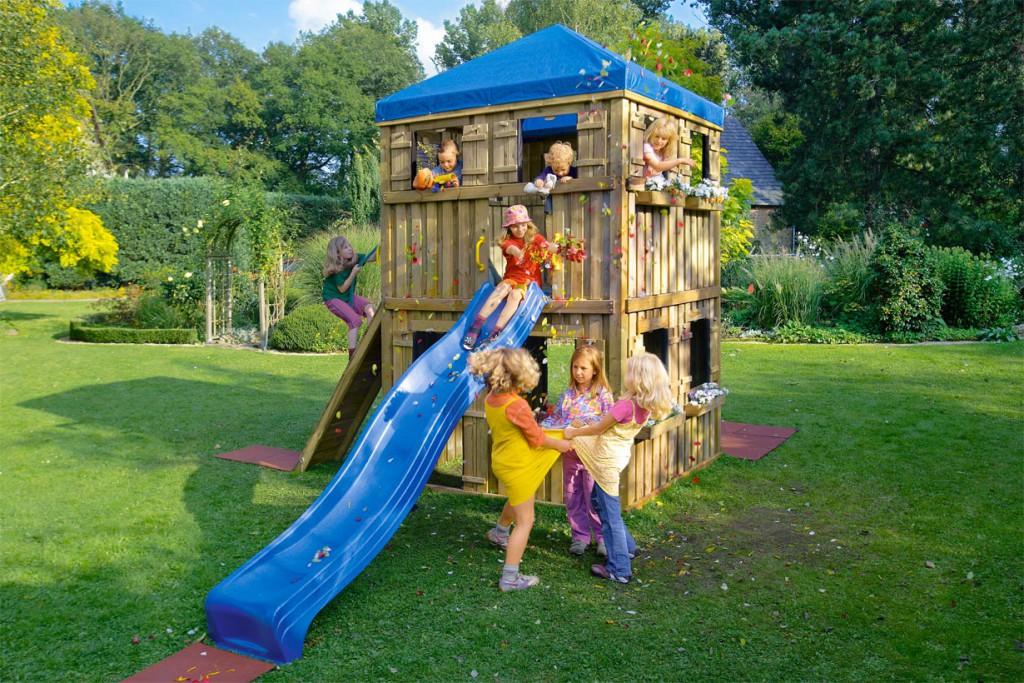 Top Spielplatz im Garten ⋆ hausidee.dehausidee.de   IP68