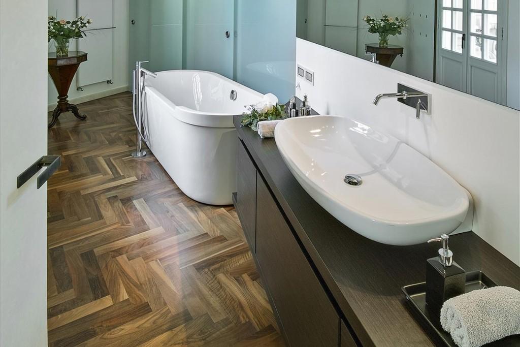 Sehr Holzboden im Bad ⋆ hausidee.dehausidee.de | ZF44